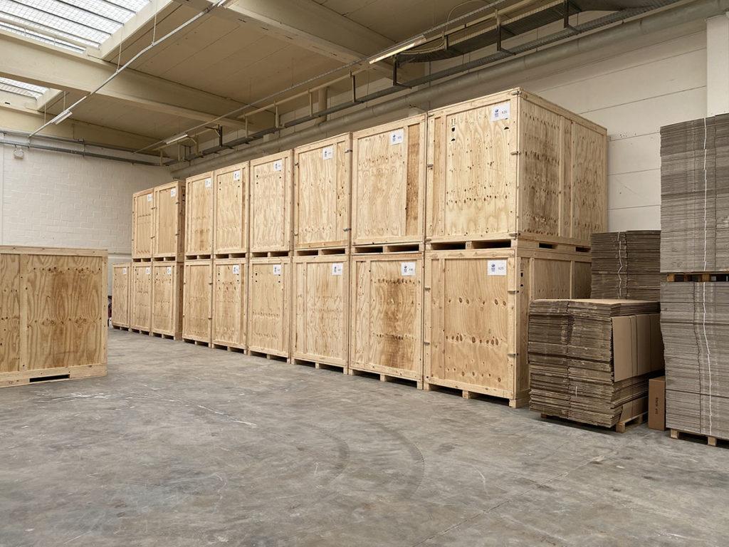 box corner storage